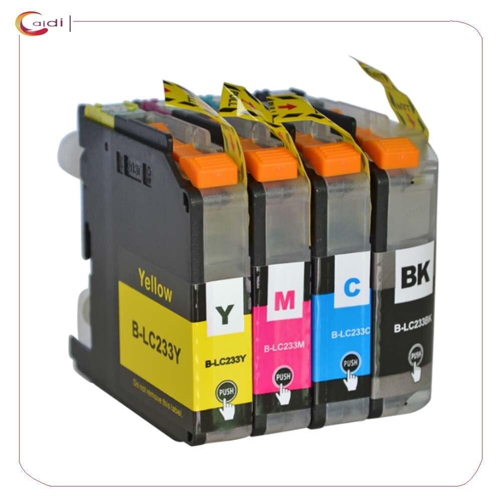 Совместимые чернила LC 233 для принтера Brother DCP-J562DW MFC-J680DW/ J880DW MFC-J5320DW/ J5720DW