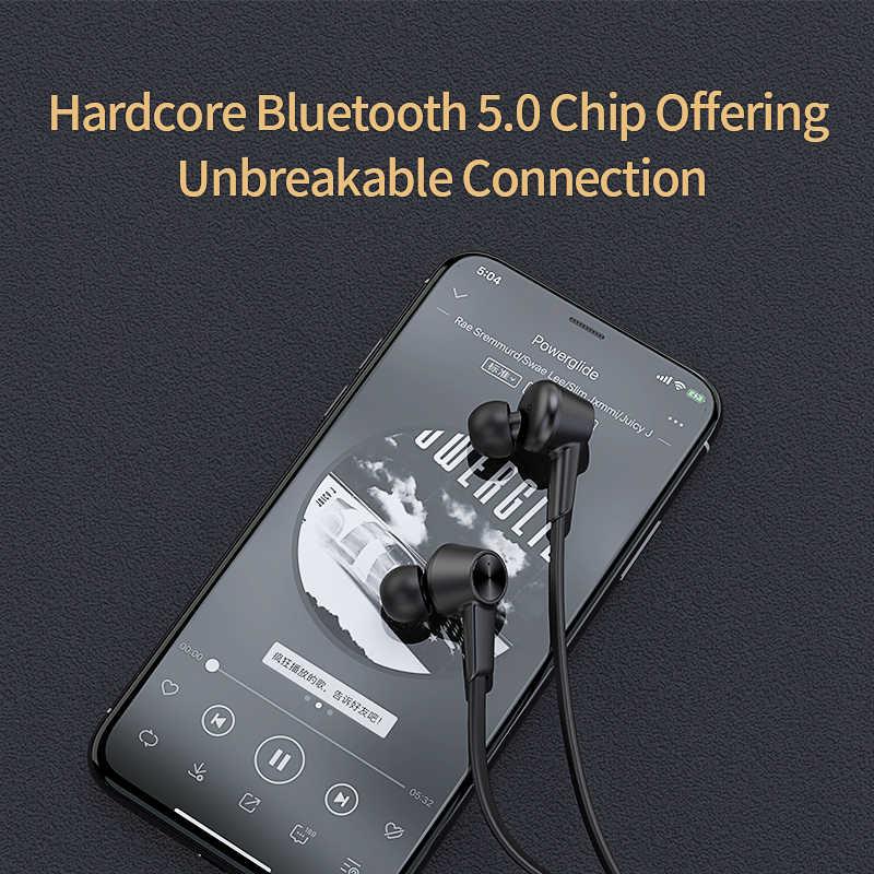 QCY L2 bezprzewodowy/a słuchawki IPX5 wodoodporna ANC z redukcją szumów bezprzewodowe słuchawki Bluetooth 5.0 Sport słuchawki z mikrofonem