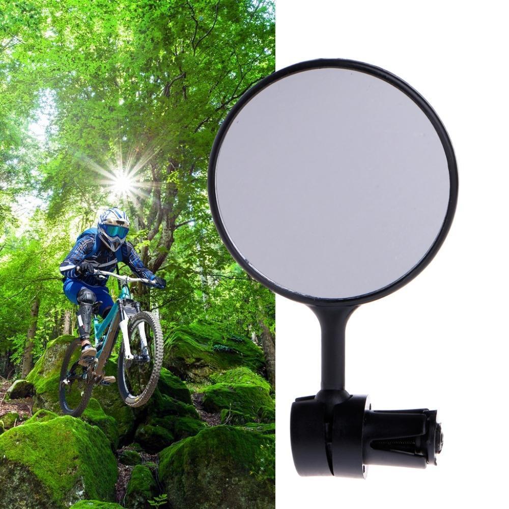 360° Cycling Bike Bicycle Handlebar Flexible Safe Rearview Rear View Mirror 1Pc
