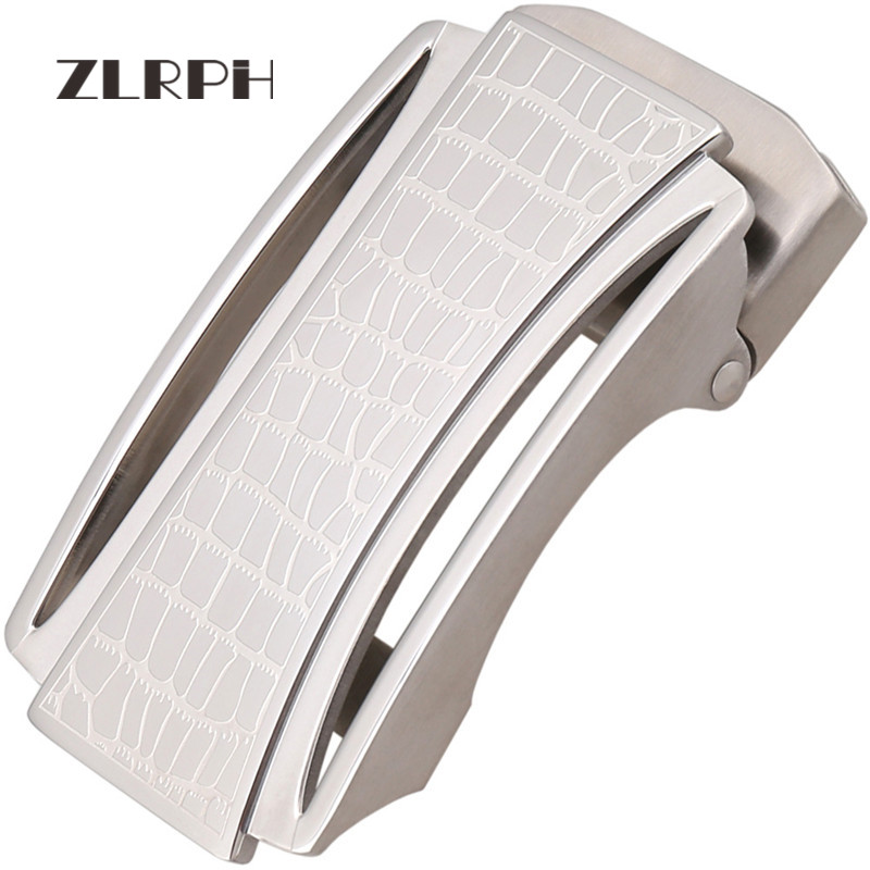 ZLRPH Trendy Design Belt Buckle Head High-grade Polished Electroplating Alloy Automatic Buckle Belt Buckle 316 Stainle Steel
