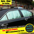 AUTO-CLUD For Toyota Carmy Foil Sunshade car styling 2012-15 special sun block 6/sets Foil Sun insulation visor