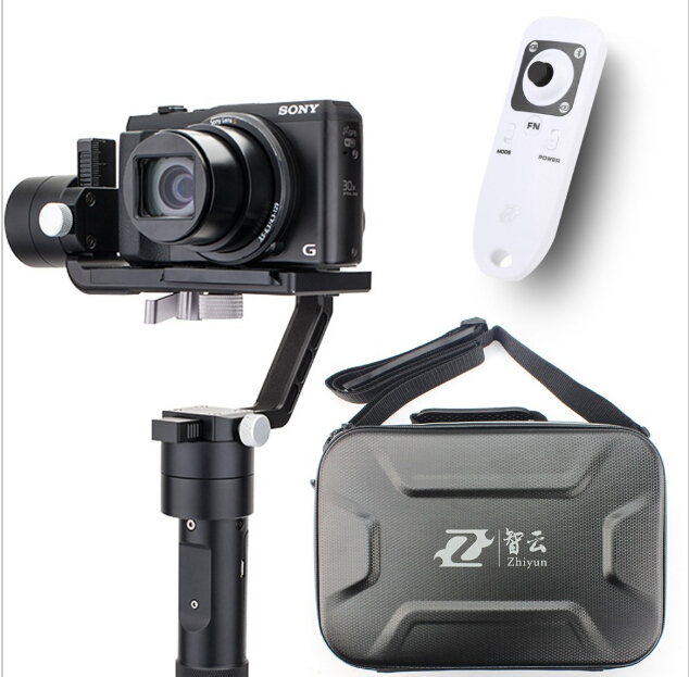 Zhiyun Crane M 3-axle Handheld Stabilizer Gimbal +Remote controller Case for DSLR Camera Support 650g Smartphone Camera afi vs 3sd handheld 3 axle brushless handheld steady gimbal stabilizer for canon 5d 6d 7d for sony for gh4 dslr q20185