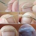 Fijador Recuperar pedicura cuidado de los pies de uñas herramienta de archivo de Corrección acronyx alambre onyxis juanete corrector para dedos de los pies las uñas encarnadas