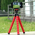 Mini Trípode de Cámara Digital Pulpo Apretón Flexible Del Soporte Del Teléfono Móvil Monopod flexible para gopro hero 3 4 para iphone 6 huawei p9