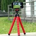 Mini Tripé de Câmera Digital de Telefonia móvel Suporte Aderência Polvo Flexível Monopé flexível para gopro hero 3 4 para iphone 6 huawei p9