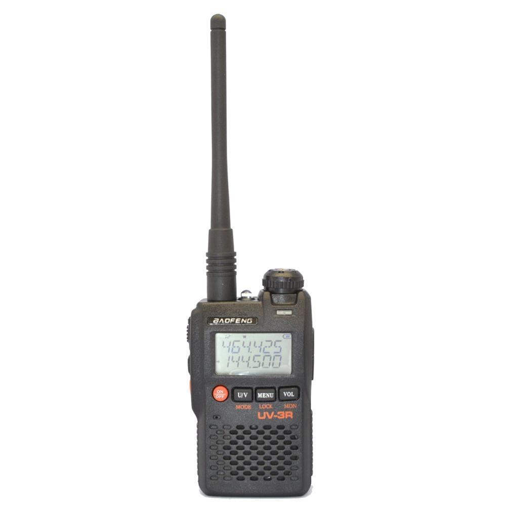 BaoFeng UV-3R Mark II 136-174/400-470 MHZ Double Affichage de la Fréquence Deux-Way Radio