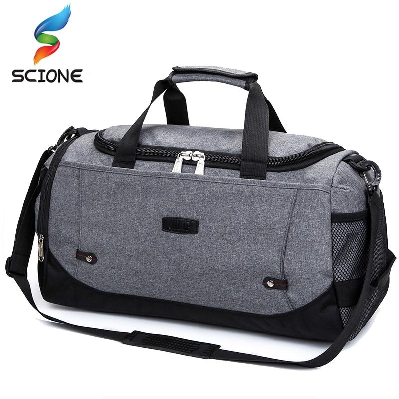 HOT High Quality Outdoor Sports Bags Women Men Fitness Gym Bag Handbag Shoulder Crossbody Bags Travel