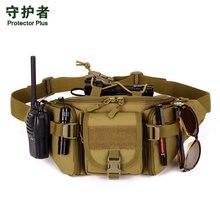 2017 Hot Canvas Waterproof Waist Belt Bag For Men Bum Fanny Waist Pack Bags Military Bicycle Equipment Male