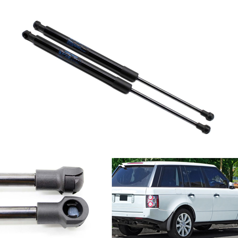 2pcs Auto Bonnet Gas Struts Shock Car Lift Supports for Land Rover Range Rover L322 2003-2008 2009 2010 2011 2012 11.57 inch chrome head light cover for range rover hse l322 2005 2010