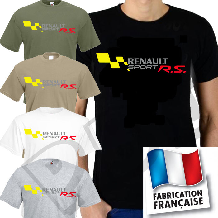Renault Sport T-Shirt size S to 2XL