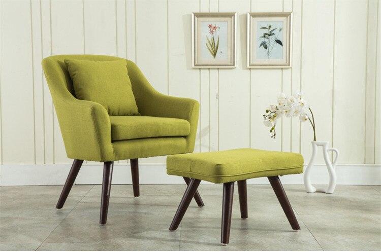 mitte des jahrhunderts modernes design sessel stuhl hocker wohnzimmer mbel holz beine bedoorm akzent stuhl mit hocker hocker in mitte des jahrhunderts - Mitte Des Jahrhunderts Modernes Wohnzimmer