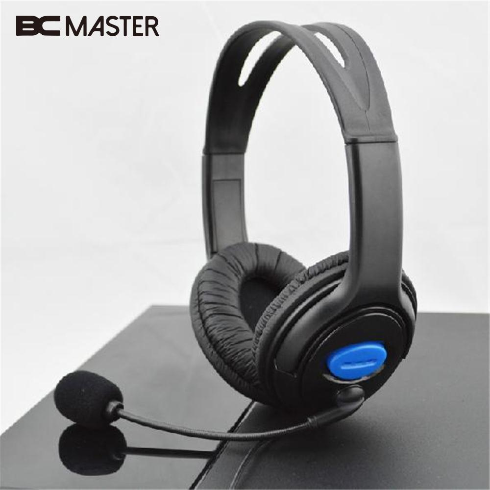 BCMaster Wired Stereo Headset Headband Headphone for Sony PS4 ...