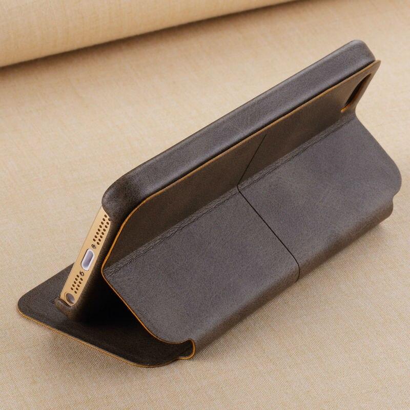 Цена за Бесплатная Доставка X-уровень Экстрим кожаный Чехол Для iPhone 5 SE Флип Стиль Чехол Для Телефона Для iPhone 5S SE крышка Случая