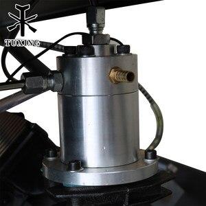 Image 5 - TUXING 4500Psi Doppel Zylinder PCP Elektrische Rir Pumpe Hochdruck Paintball Luft Kompressor für Luft Gewehr 6,8 L Tank 220V 110V