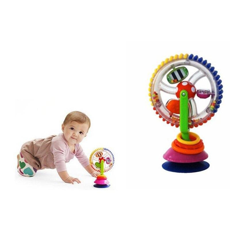 Высокое качество Детские стул корзину присоски вокруг Ferriswheel поворот мельница колокол большое удовольствие для ребенка играть обучения Пр...