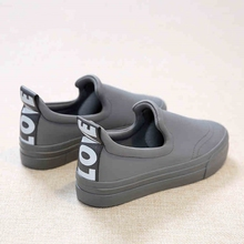 Free shipping 2017 spring new fashion font b women b font shoes stretch fabric loafers platform