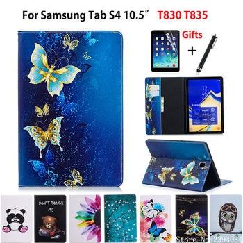 Case Voor Samsung Galaxy Tab S4 10.5 T830 T835 SM-T830 SM-T835 10.5