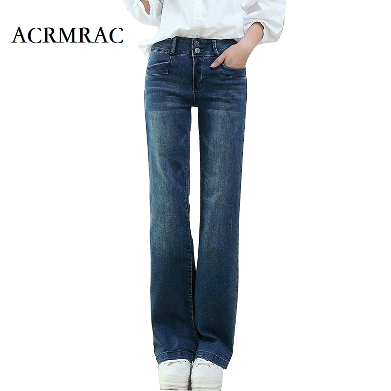 ACRMRAC women jeans Spring and autumn Los