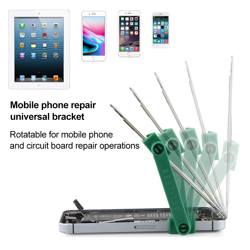 Bst 130 Mobile Phones Plate Repair Motherboard Fixed Bracket New Stainless Steel Phone Pcb Fixtures Repairing Circuit Boards Maintenance Support Multifunction Disassemble Screen Fixture Tool In Pliers From Tools On