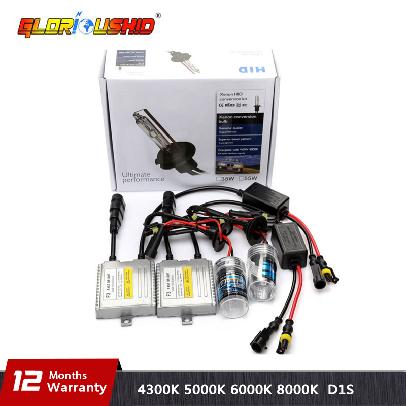 One Set 35w Fast bright Xenon HID Bulb KIT H1 H3 H4 H7 H11 9005 9006 881 D2S Hid Lamp 4300K 5000K 6000K 8000K H7 xenon ballast duu 2pc h1 h3 h7 h11 9005 9006 d2s 12v 35w hid xenon bulb auto car headlight replacement lamp 4300k 5000k 6000k 8000k 10000k 120