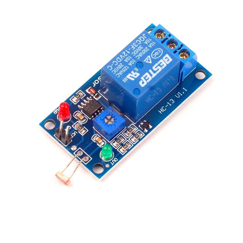 Universal 12V Light Sensitive Sensor Module Photosensitive Optical Relay Module For Kc868-h8 H32 Smart Home System