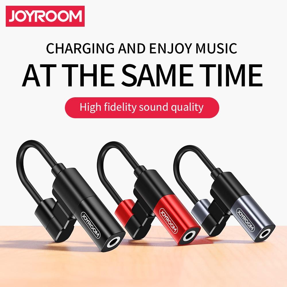 Joyroom Phone Adapter for Lightning to 3.5mm Jack 2 in 1