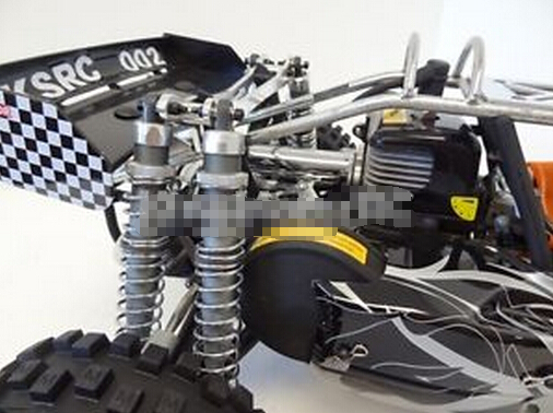 King Motor Dual Shock Conversion Kit Fits Hpi Baja B T Sc Rovan Buggy Truck