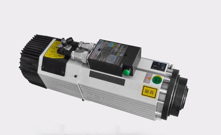 9kw 24000 tr/min 380 V/220 V tête courte ISO30 atc refroidi par Air broche de changement d'outil automatique