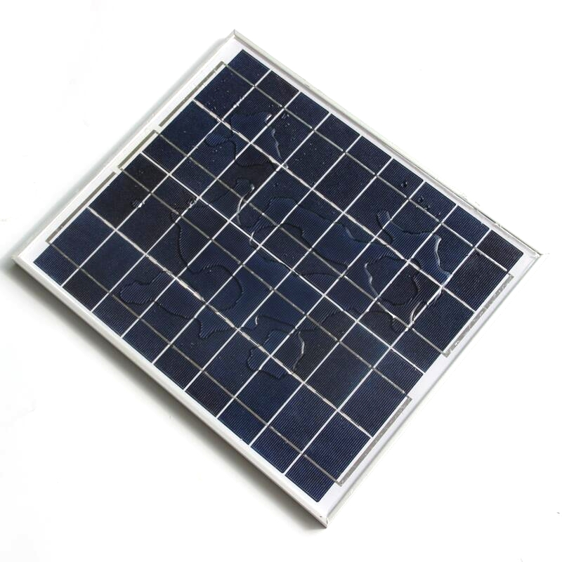 цена на 20W 18V Polycrystalline Silicon Solar Panel For 12V Photovoltaic Power Home System 20WP 12V DC Poly Solar Module Free Shipping