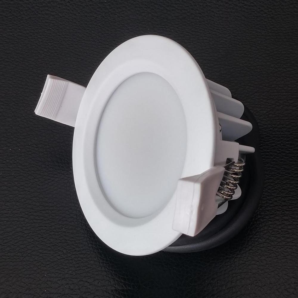 bathroom 8w driverless dimmable led downlight ac220v 240v shower room ip65 hv led ceiling spot. Black Bedroom Furniture Sets. Home Design Ideas