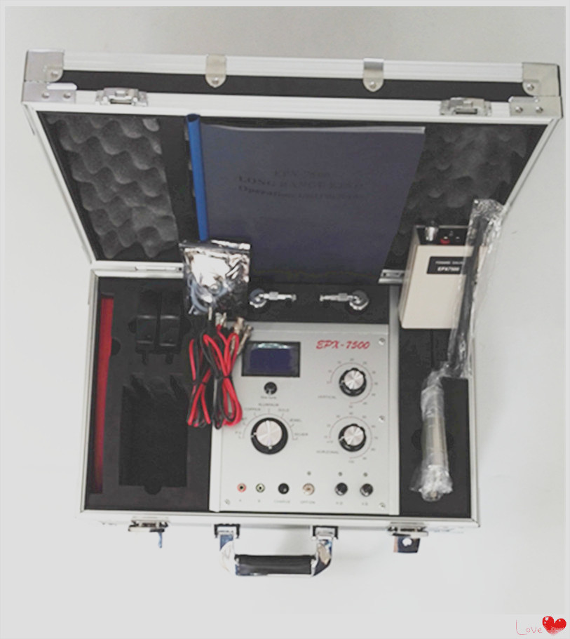 Underground Remote Gold, Silver, Copper, Precious Stone Metal Detector Epx-7500 Instrument For Archaeological Prospecting