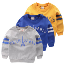 Boy's fleece jacket T-shirt in the autumn of 2016 into the spring and autumn period and the new children's baby