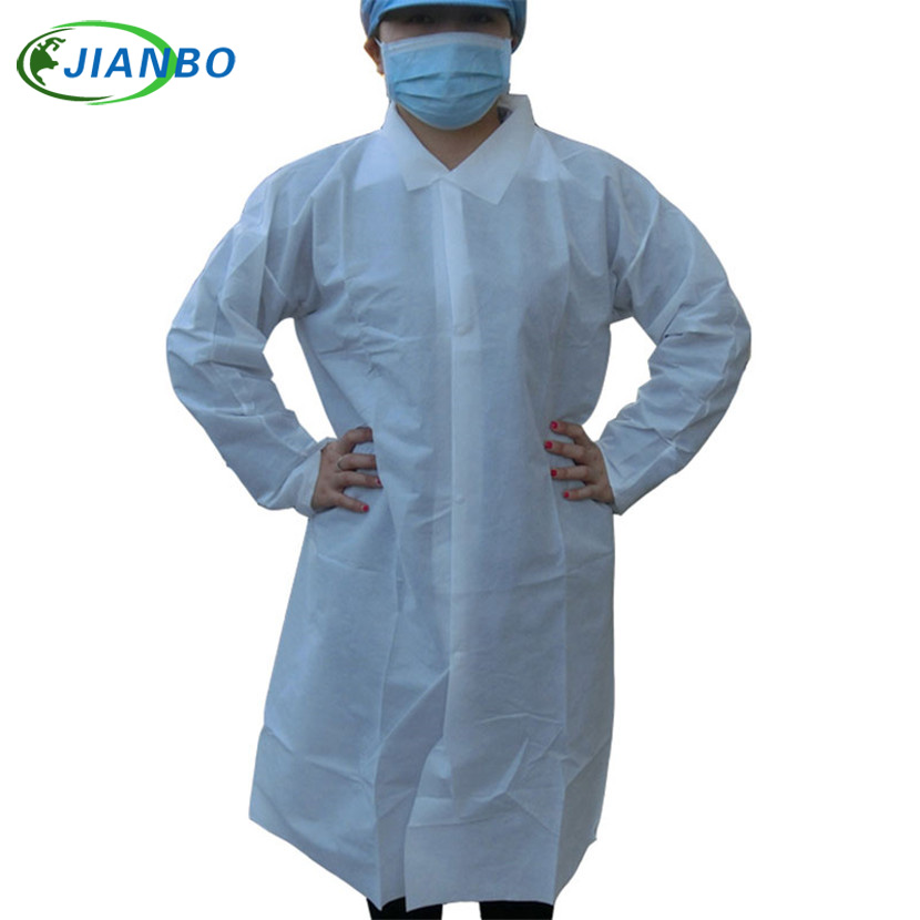 Disposable Lab Coat Laboratory Thicker SMS Nonwoven Fabric Working Coveralls Clean Room White Dustproof Protective Work Clothes 16 ports 3g sms modem bulk sms sending 3g modem pool sim5360 new module bulk sms sending device