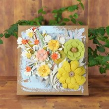 Eastshape Flower Leaves Dies Scrapbooking Metal Cutting New 2019 Frame Die Cut For Card Making Embossing Craft