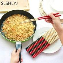 SLSHLYJ 1 пара супер длинные палочки для еды Кук лапша фритюрница горячий горшок Традиционный китайский стиль бамбук для ресторана, дома и кухни