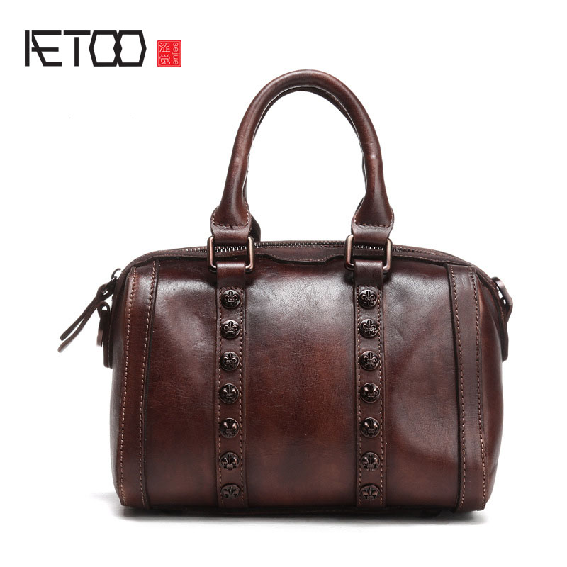 AETOO 2017 new original handmade leather leather national retro motorcycle package bag aetoo 2017 new 100