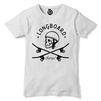Longboard T Shirt Jump trick Skateboard Tshirt emo indie goth Half Pipe top 206 2019 fashion t shirt free shipping cheap tee