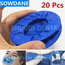 20 шт. стоматологический одноразовый резиновый стерильный рот открывалка для пероральной щеки расширитель втягивающий резиновый плотины Ретрактор рот открывалка гигиена полости рта