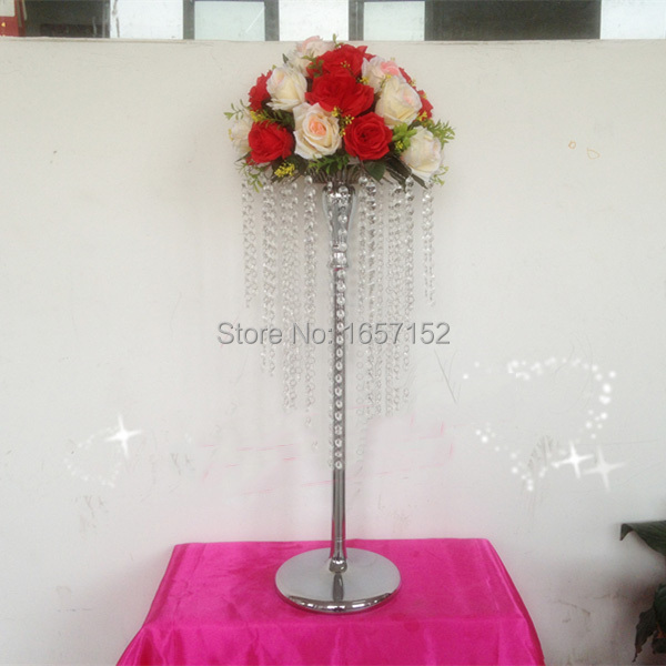 K9 Crystal Large Table Top Chandelier Flower Stands
