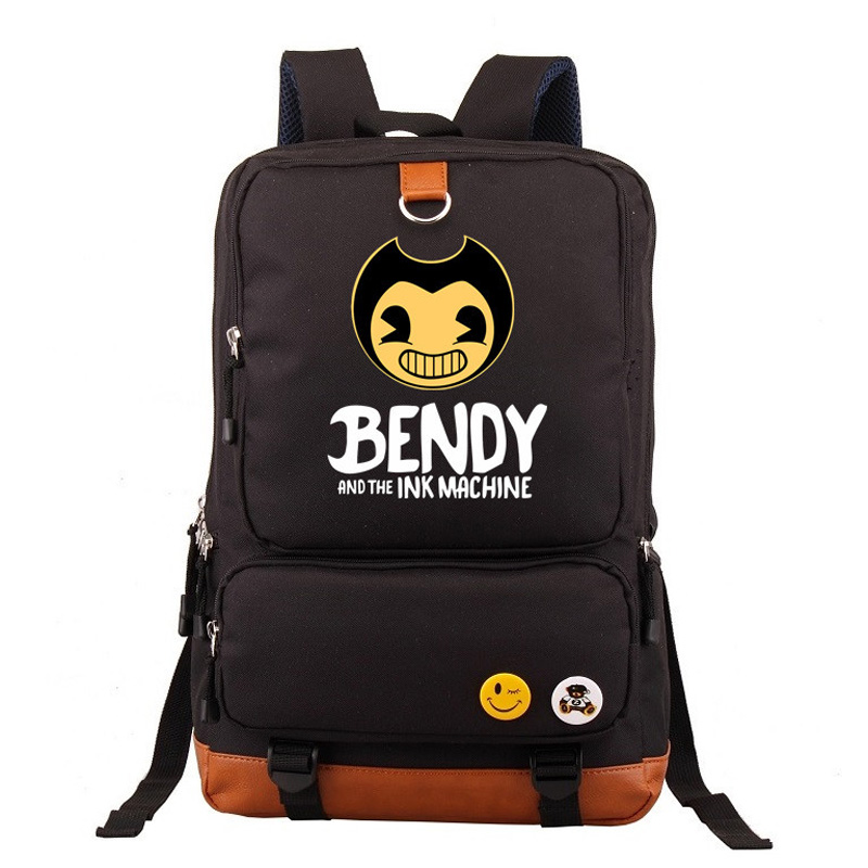2019 New Fashion Bendy And The Ink Machine Schoolbags For Teenage Women Teens Boys Girls Children Backpack Luggage & Bags