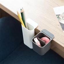 FUNIQUE 1PC DIY Storage Box Desktop Organizer Pencil Holder Home Office Storage Pen Holder Multigrid Paste Storage Container