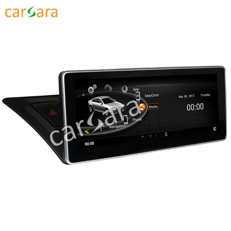 Carsara Android affichage pour Audi A4 A5 2009-2016 10.25 écran tactile radio gps tableau de bord stéréo lecteur multimédia