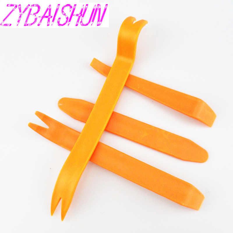 ZYBAISHUN, Kit de herramientas de extracción de Panel de Clip de puerta de Radio para salpicadero de coche, Kit para Mitsubishi ASX Outlander Lancer Evolution Pajero