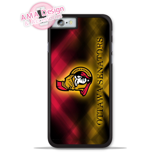 Ottavva Senatorz Ice Hockey Fans Phone Cover Case For Apple iPhone X 8 7 6 6s Plus 5 5s SE 5c 4 4s For iPod Touch