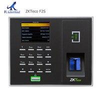 Zkteco acesso 3.5 tcp e rs232 controle de acesso biométrico f2s lan sensor impressão digital suporte turco dc 12 v/3a Dispositivo de reconhecimento de impressão digital     -