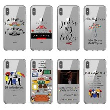 Fashion Friends central PERK TV show silicone Phone Case Cover For iPhone 5 5S 6 6S Plus 7 8 Plus X10 XR XS MAX to4rooms стол perk