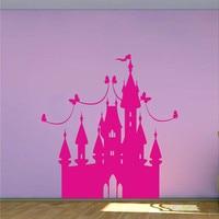 プリンセス城壁用女の子おとぎ話寝室ビニールウォールステッカーdiyベビー保育園ルームの壁アート装飾