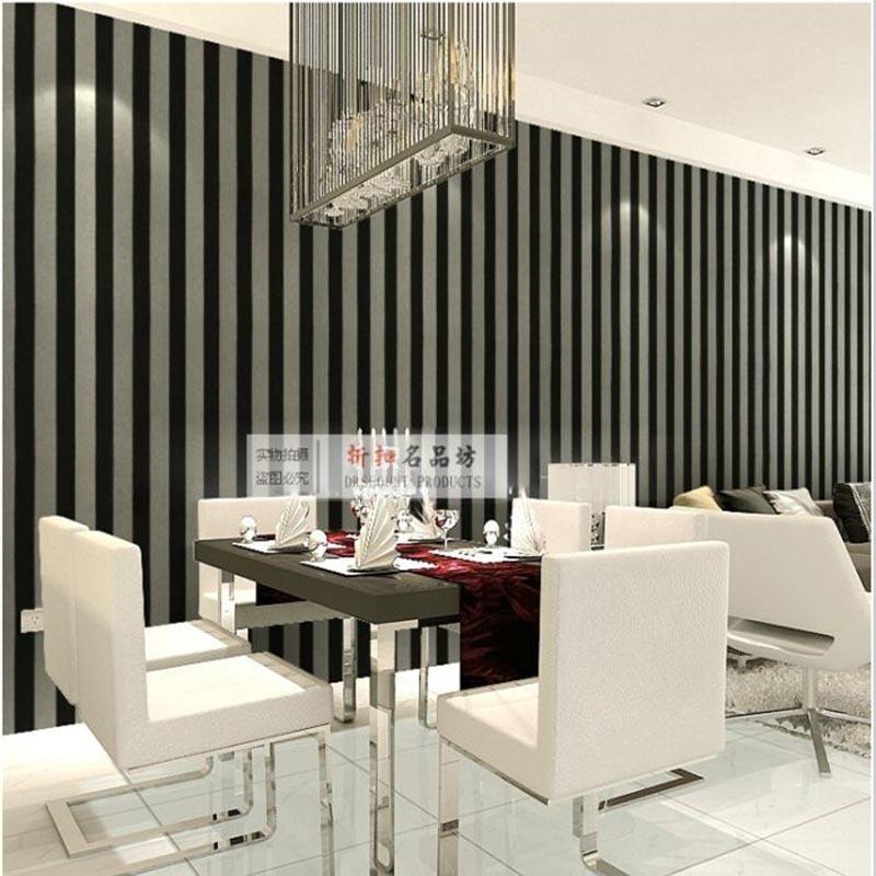 black and white striped wallpaper blue khaki pink vertical. Black Bedroom Furniture Sets. Home Design Ideas