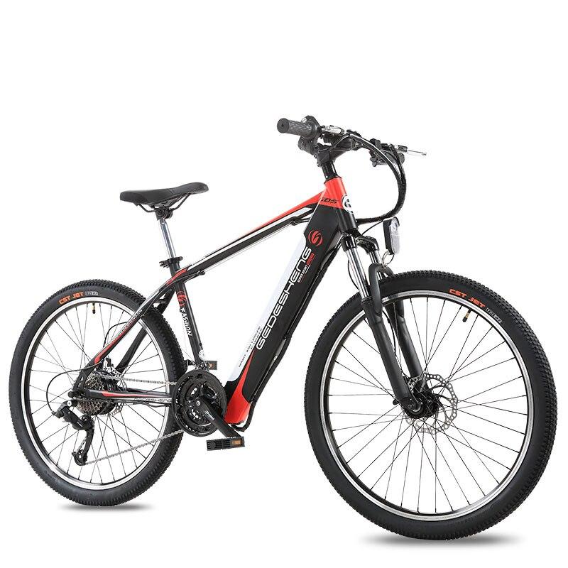 26 inch elektro-fahrrad 48V10ah lithium-batterie versteckte in leichte elektrische mountian fahrrad 25 km/std 240 motor ebike