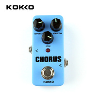 KOKKO FCH2 Mini Guitar Effect Pedal Guitarra Booster High Power Tube Guitar Simulation Chorus Effect Device Musical Instruments